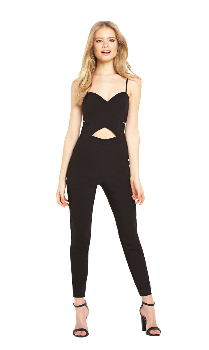 Miss Selfridge Beng Cutout Jumpsuit