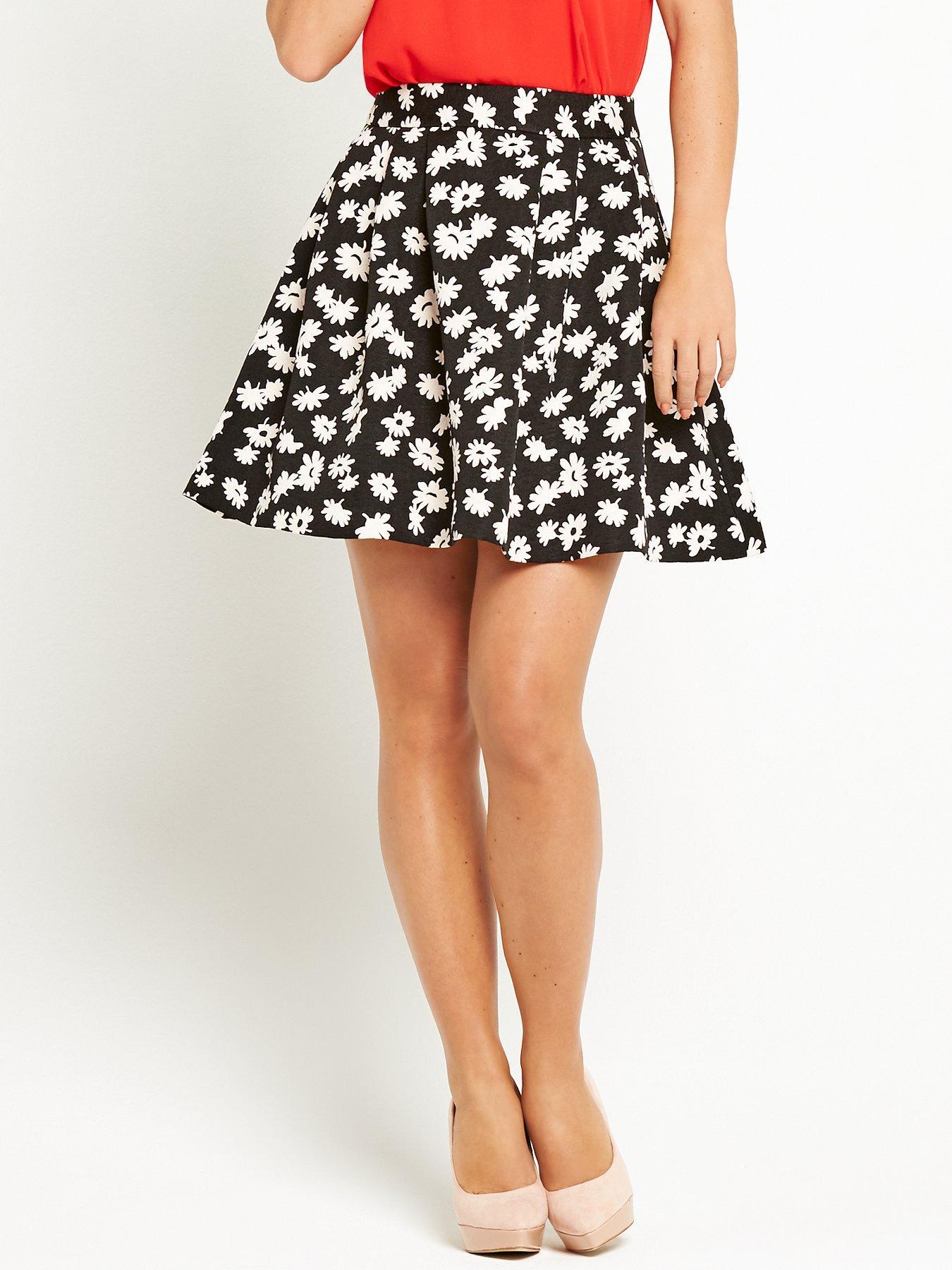 Coleen Floral Jacquard Full Skirt