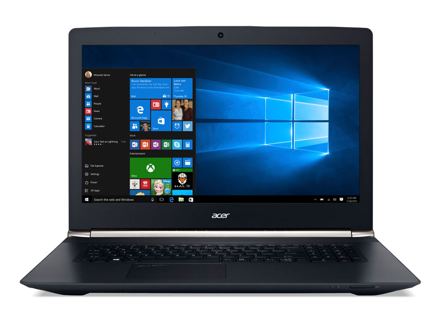 Image of Acer VN7-792G Intel Core i5 8GB RAM 1TB HDD 128GB SSD Storage Laptop