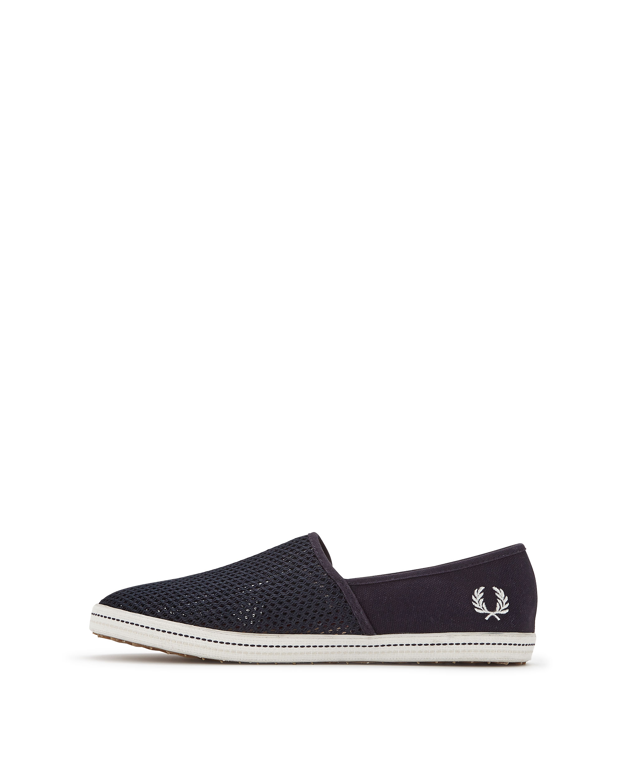 Fred Perry Kingston Stampdown Mens Slip On Plimsolls