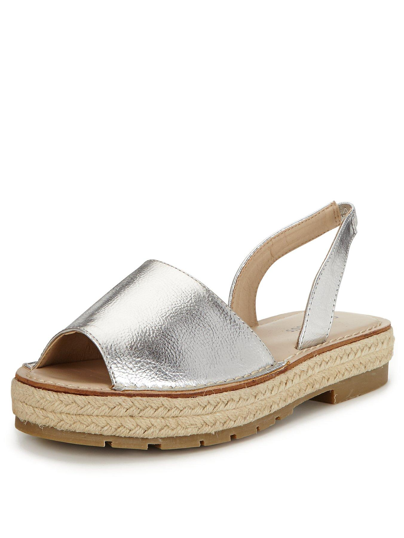 Glamorous Chunky Espadrille Sandals