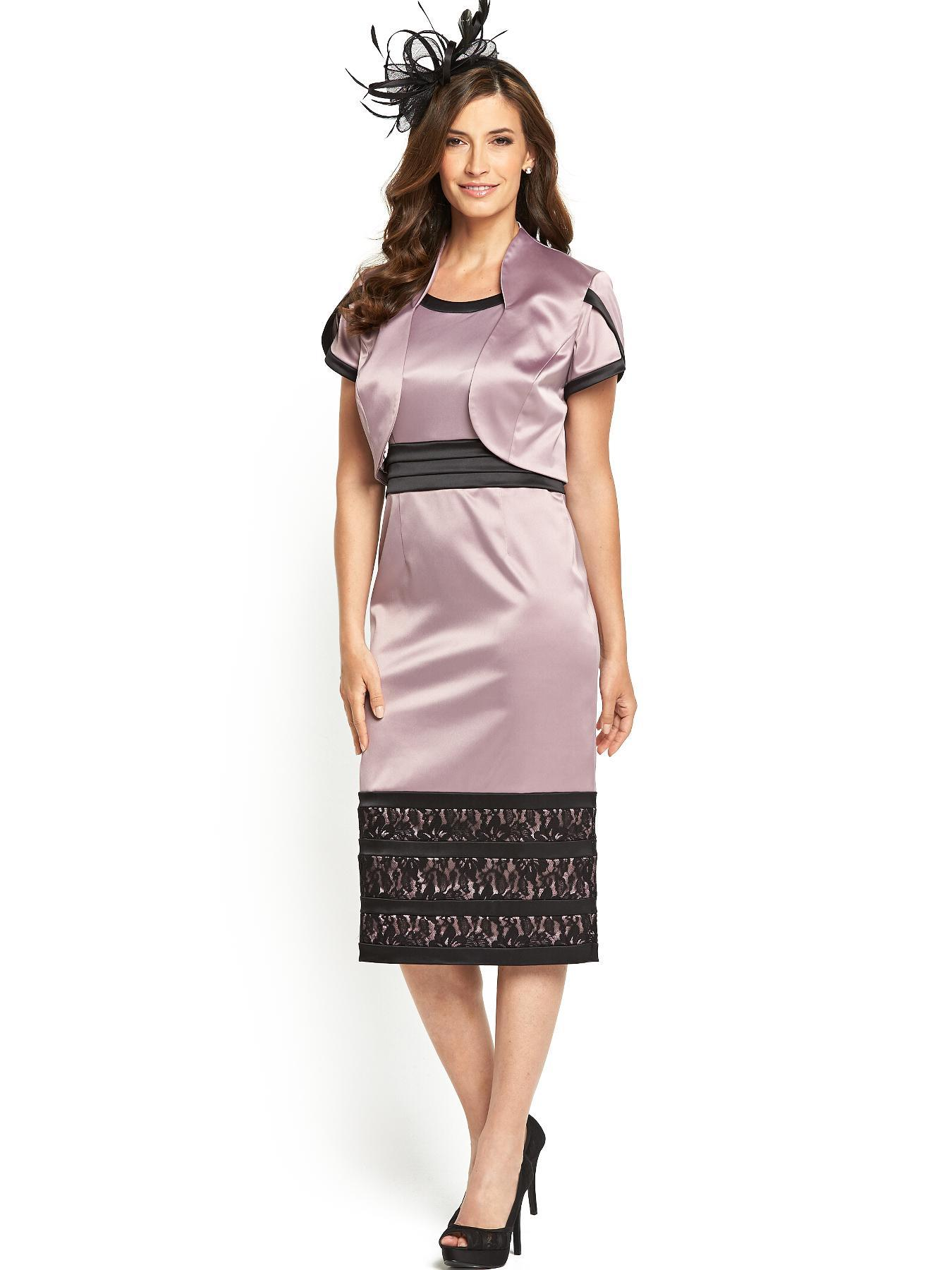Berkertex Lace Detail Pencil Dress And Jacket
