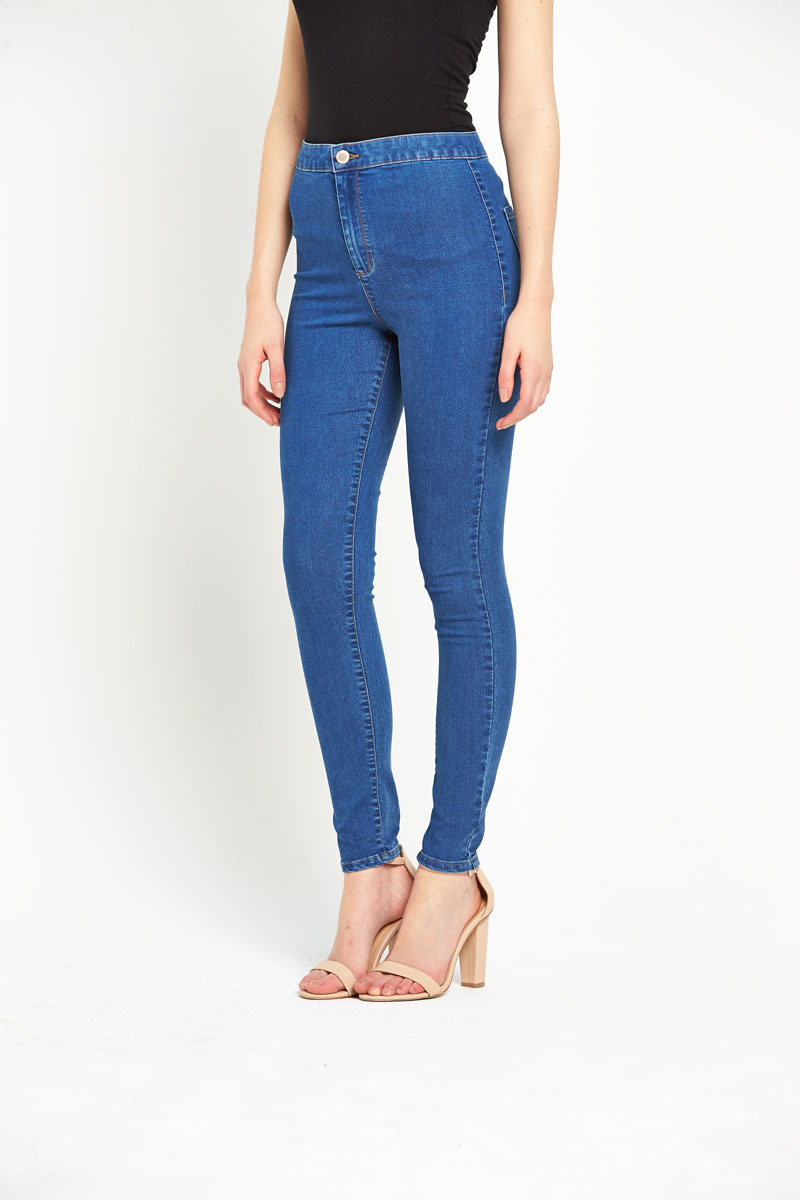 Miss Selfridge High Waisted Jeans