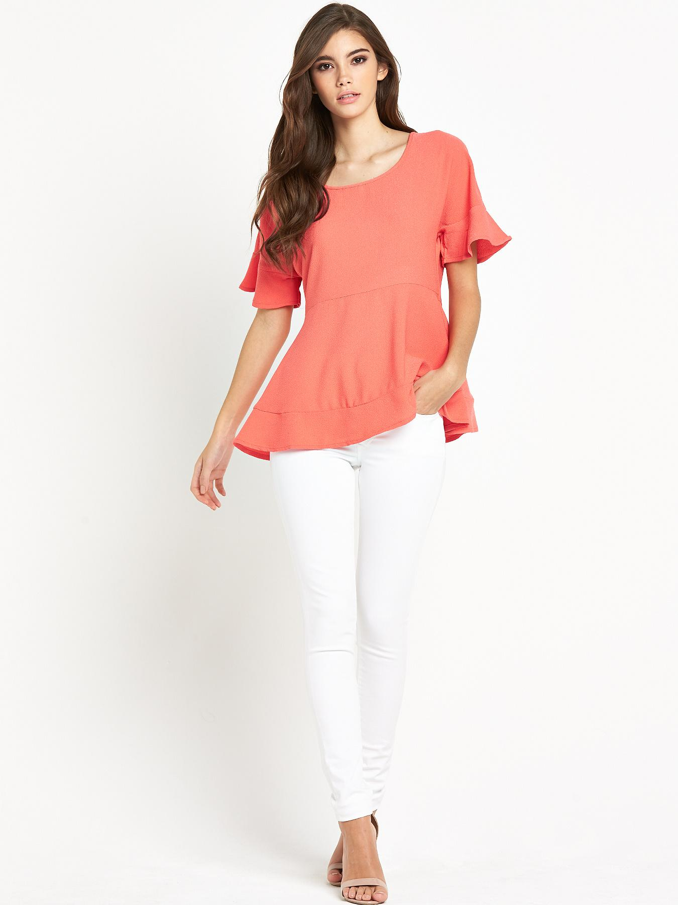Vila Godiva Short Sleeve Top