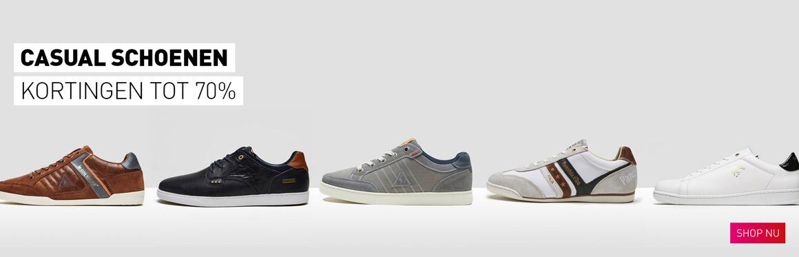 Casual schoenen kortingen