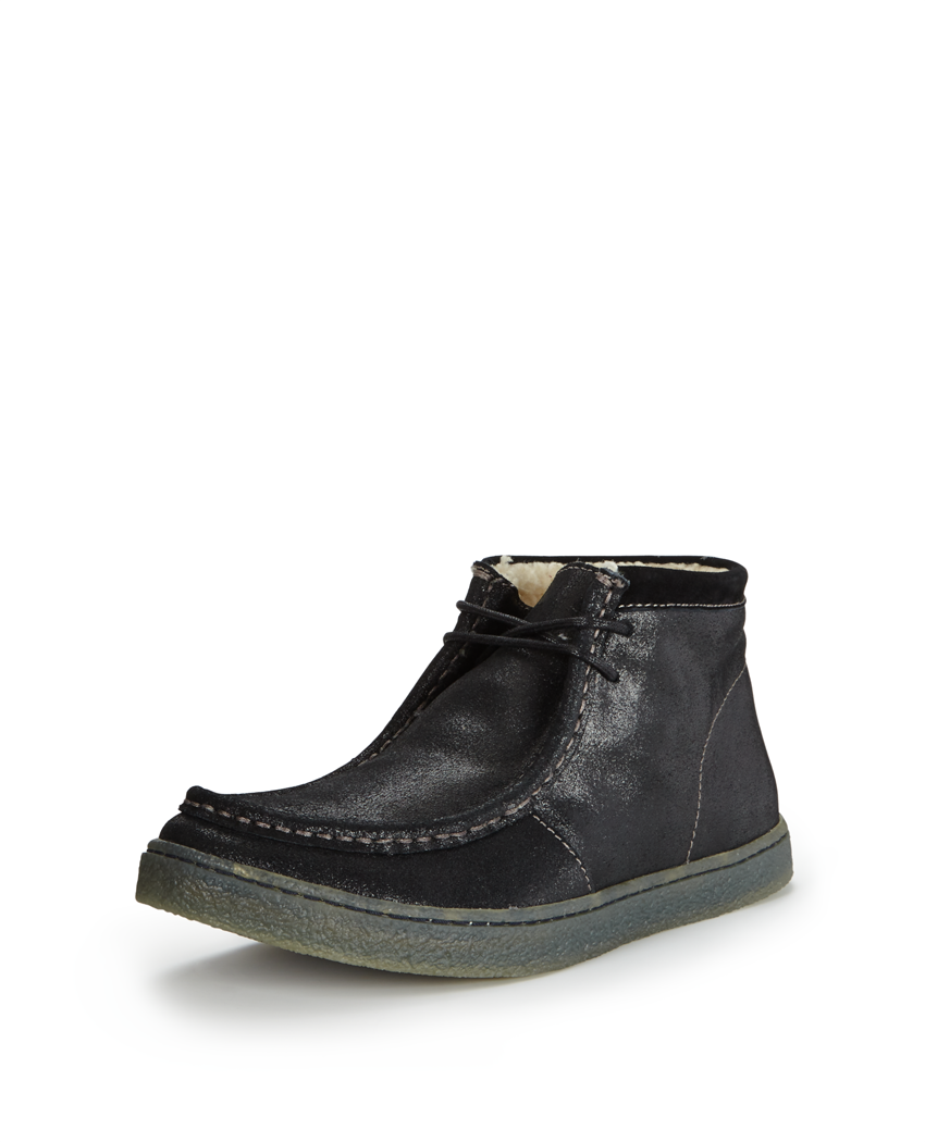 Hush Puppies Aquaice Wallaboot Suede Boots
