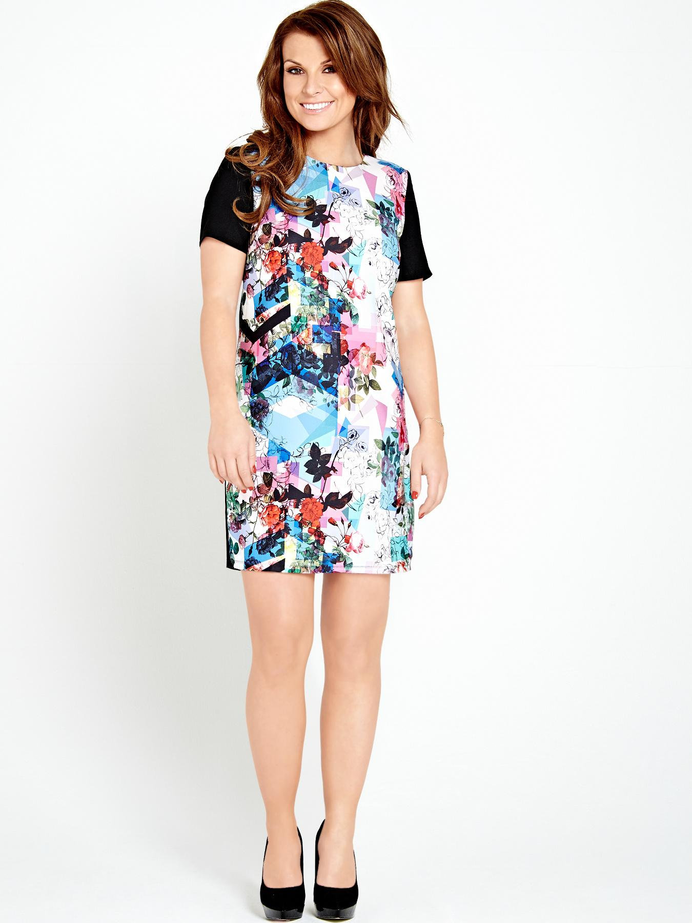 Coleen Abstract Printed Dress