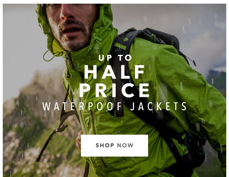 Up To Half Price Waterproof Jackets