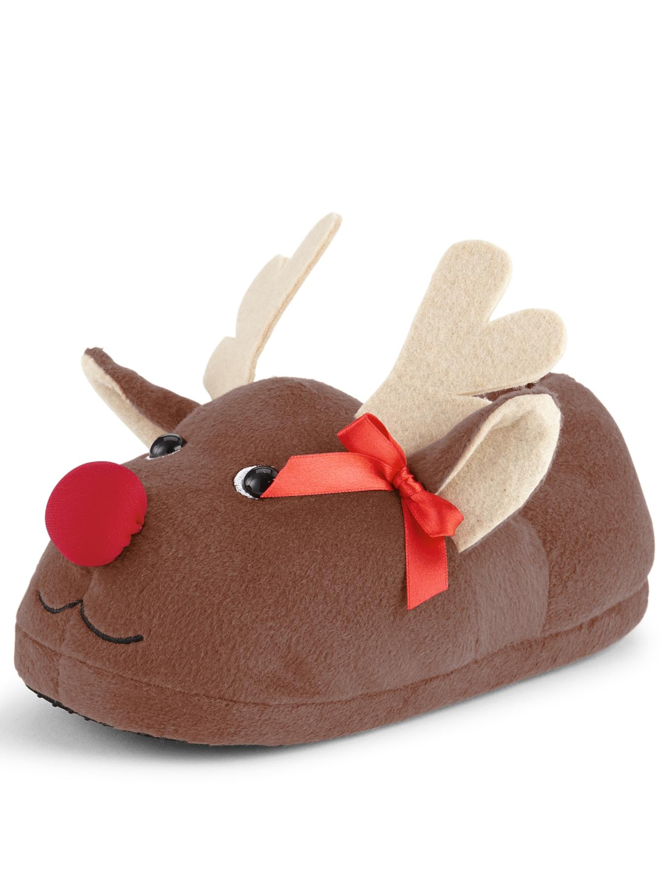 Sorbet Reindeer Novelty Slipper