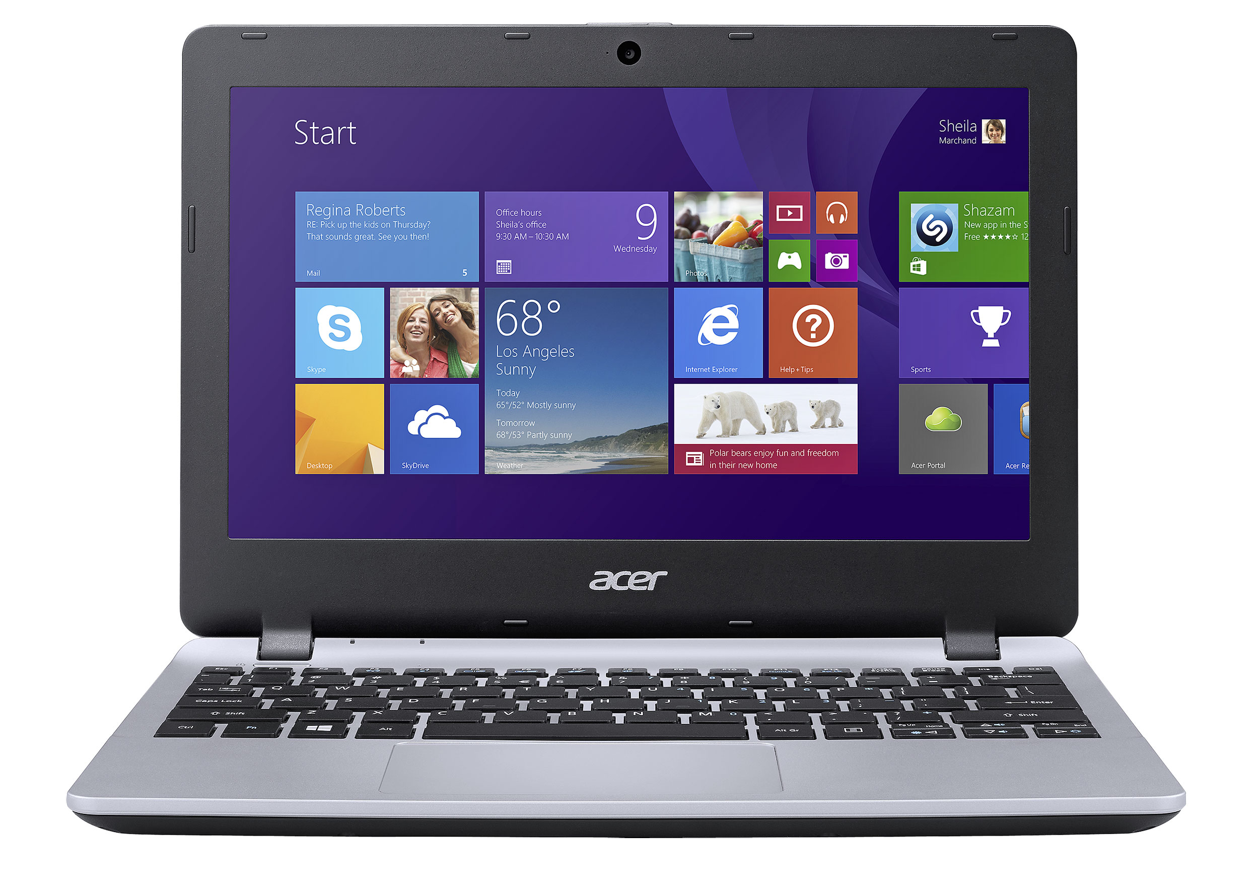 Acer Aspire E3112 Intel Celeron 2GB RAM 500GB HDD 116 Notebook