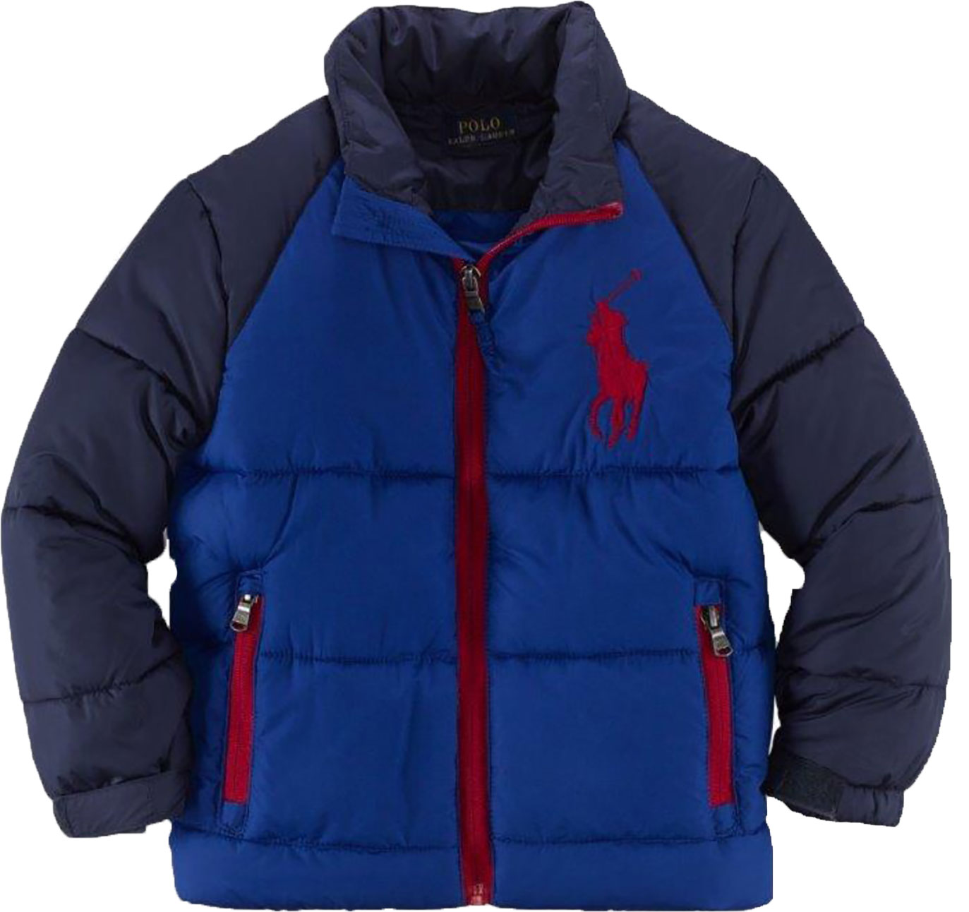 Ralph Lauren Padded Colour Block Jacket.