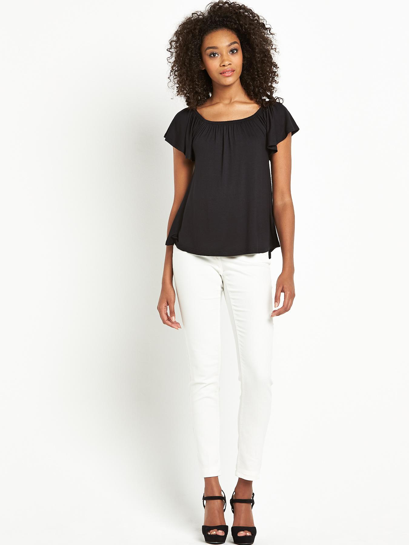 Definitions Ruffle Frill Top