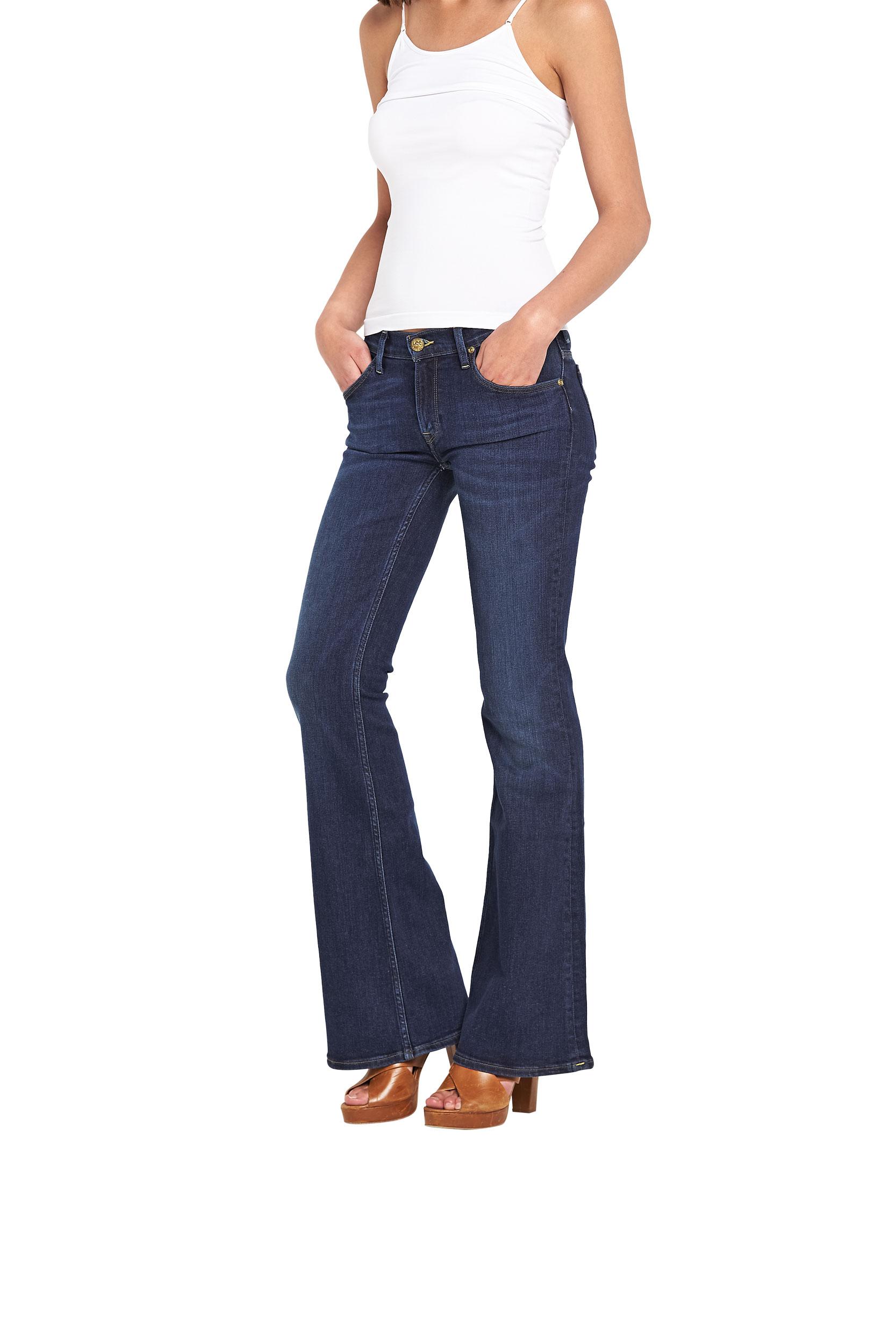 Lee Annetta Flare Leg Jeans