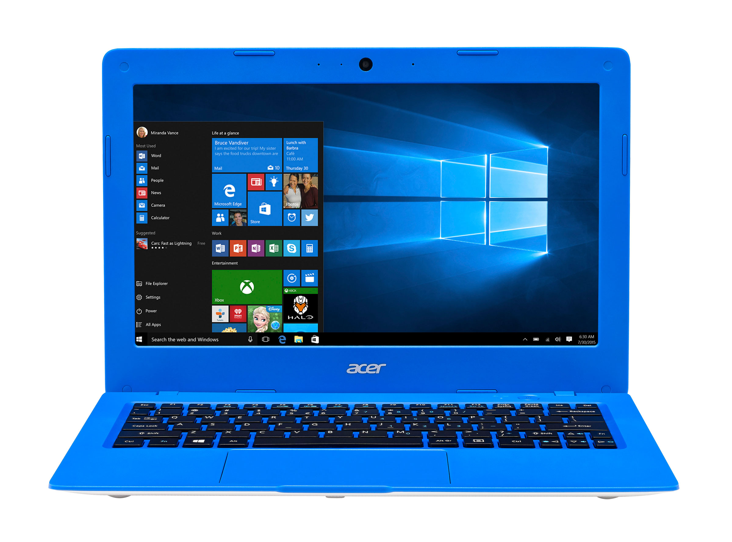 Acer Aspire One AO1131C620 Intel Celeron 32GB SSD 2GB RAM Cloudbook