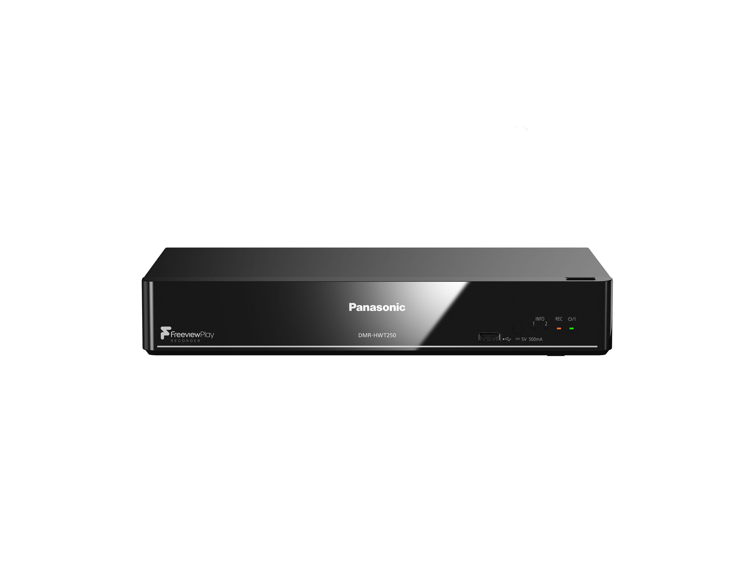 Panasonic DMRHWT250EB Smart Network HDD Recorder With Twin HD with Freeview Play