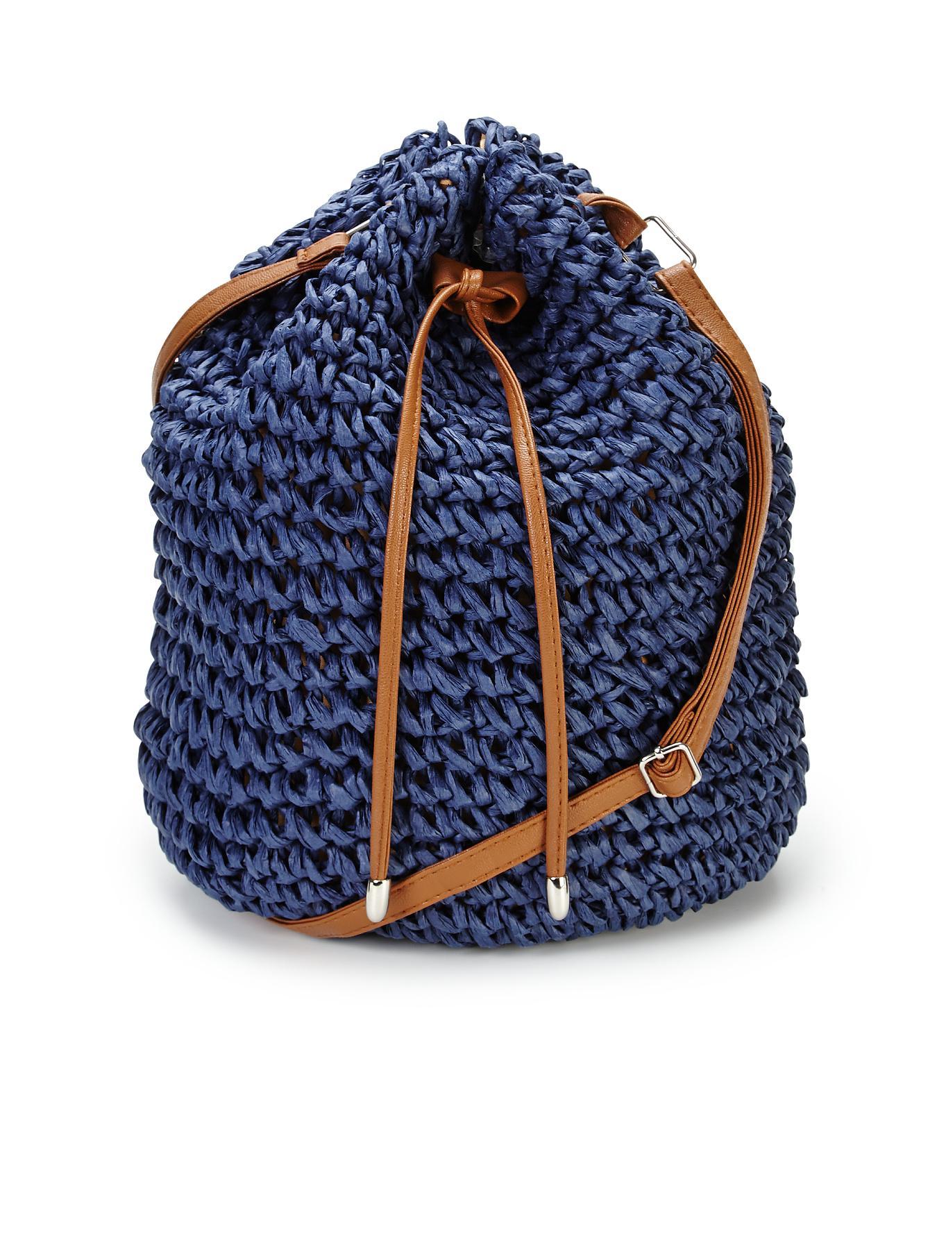 Straw Duffle Bag