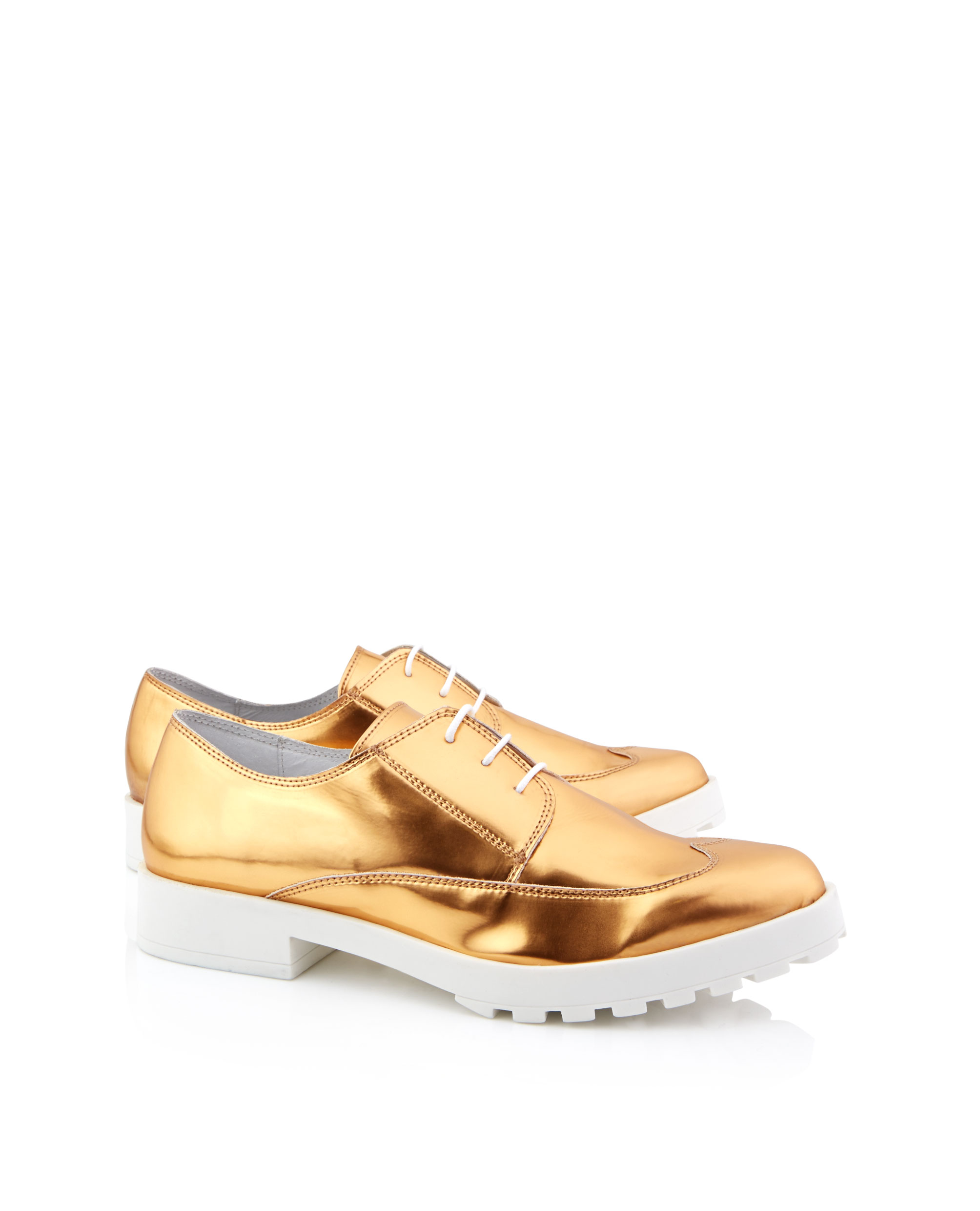 Miista Miley Flat Lace Up Brogues