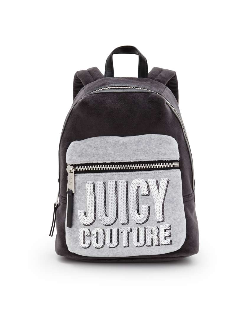 Juicy Couture Velour Two Tone Backpack