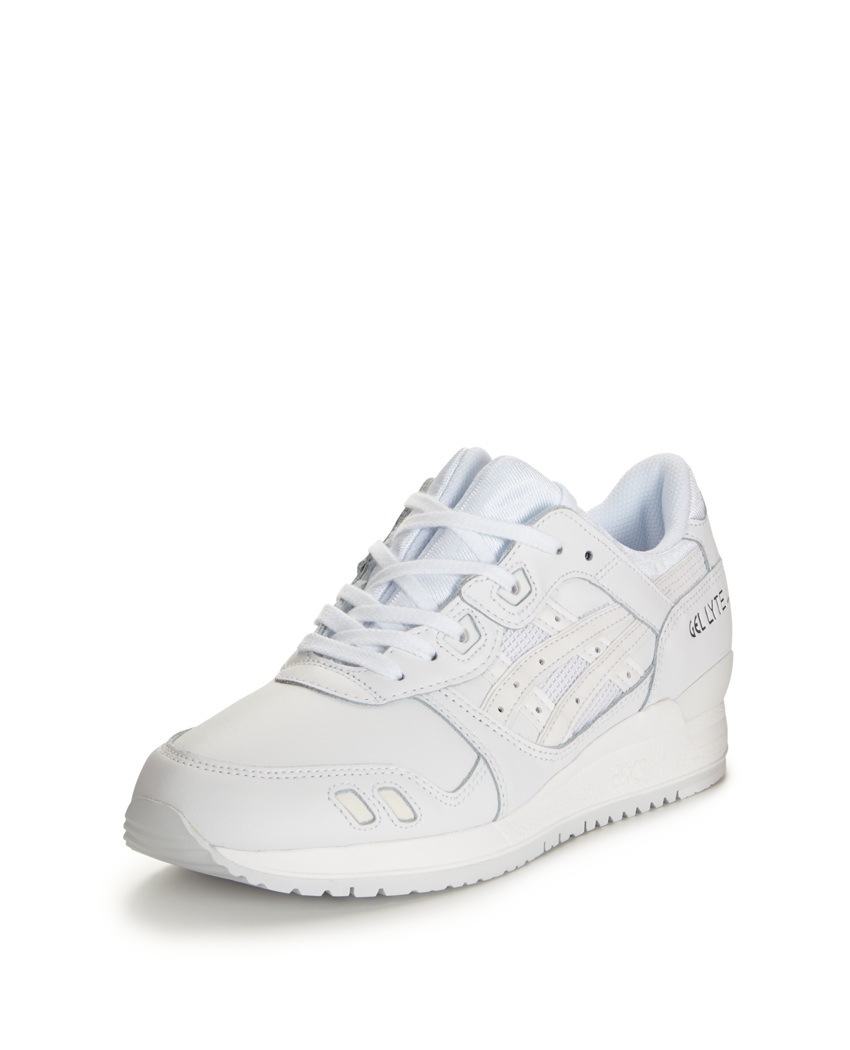 Asics Tiger Gel Lyte III White Trainers