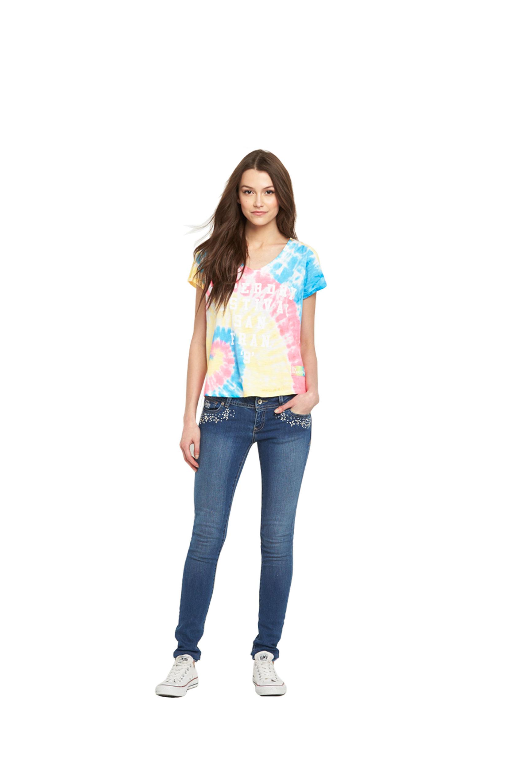 Superdry Super Skinny Embellished Jeans