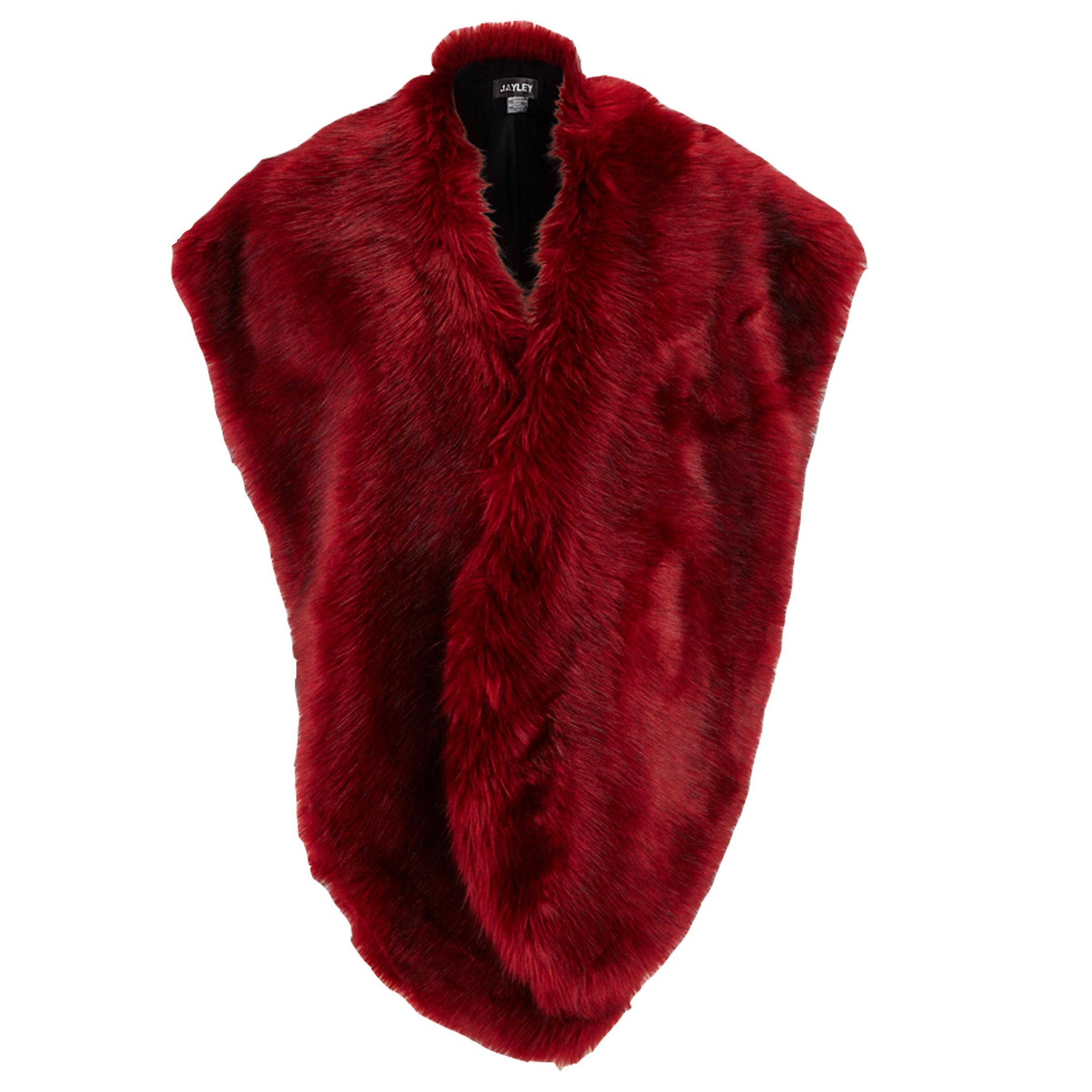 Jayley Oversized Faux Fur Collar