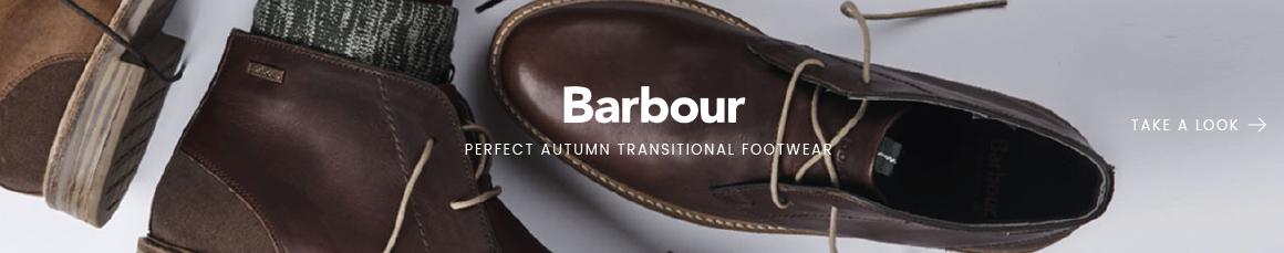 Barbour transitional footwear