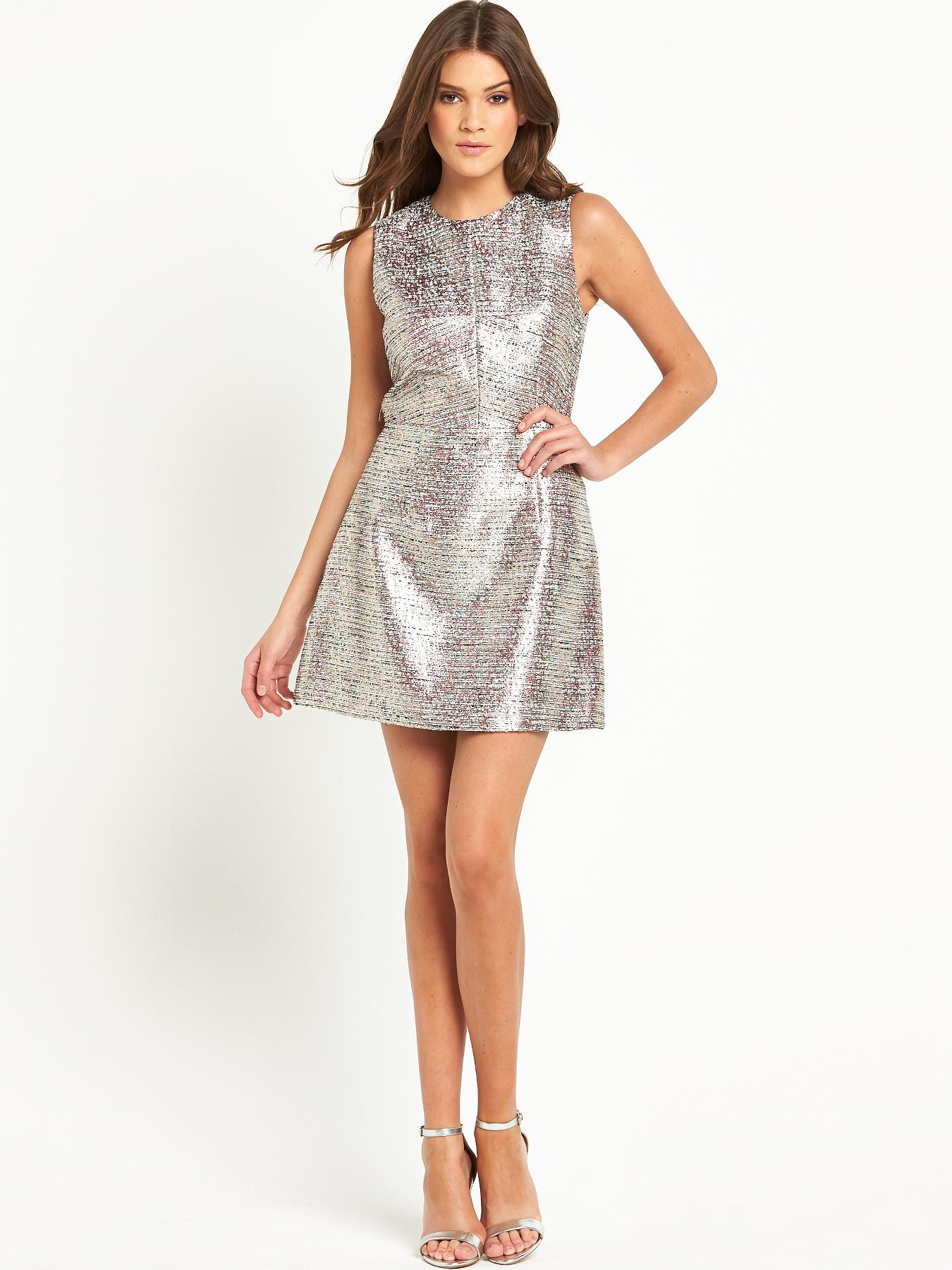 French Connection Sunlight Shimmer Dress