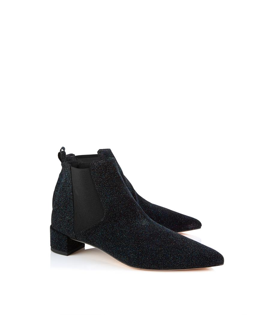 Miista Beau Metallic Ankle Chelsea Boots