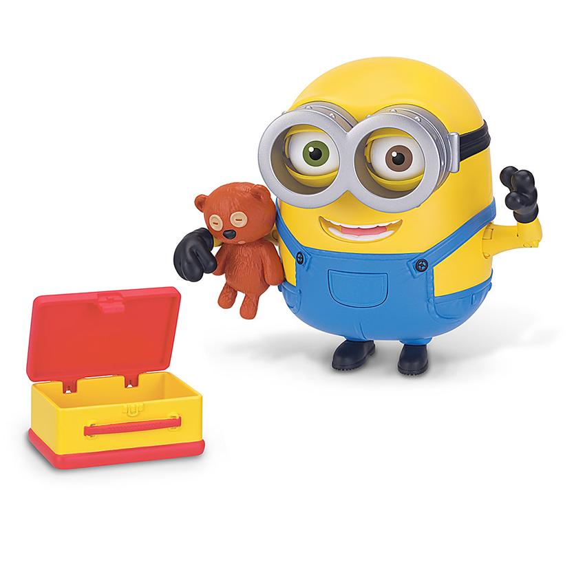 Minion Bob Action Figure With Bear