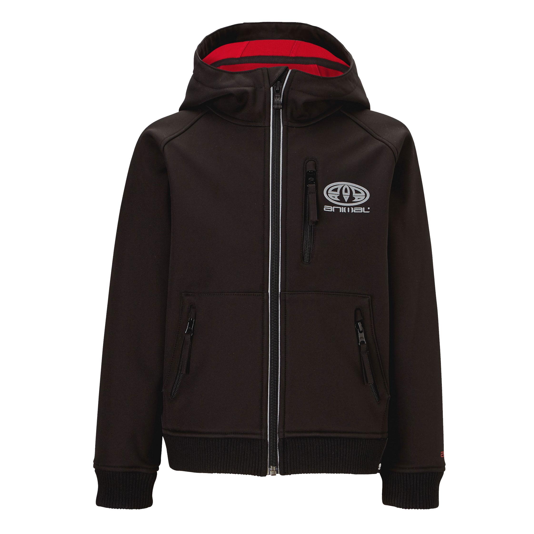 Animal Boys Bonded Fleece Tech Jacket