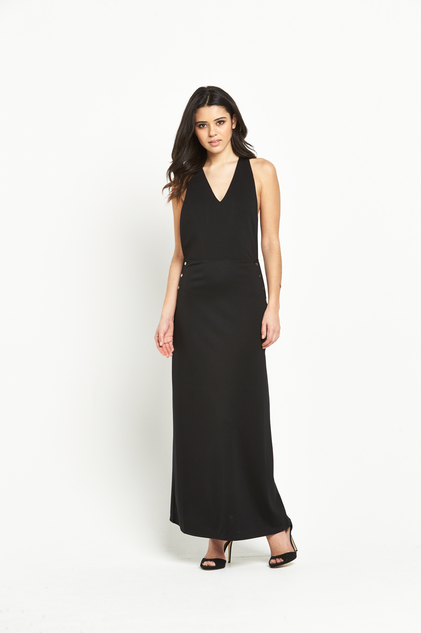 Vero Moda Carmen Apron Maxi Dress.