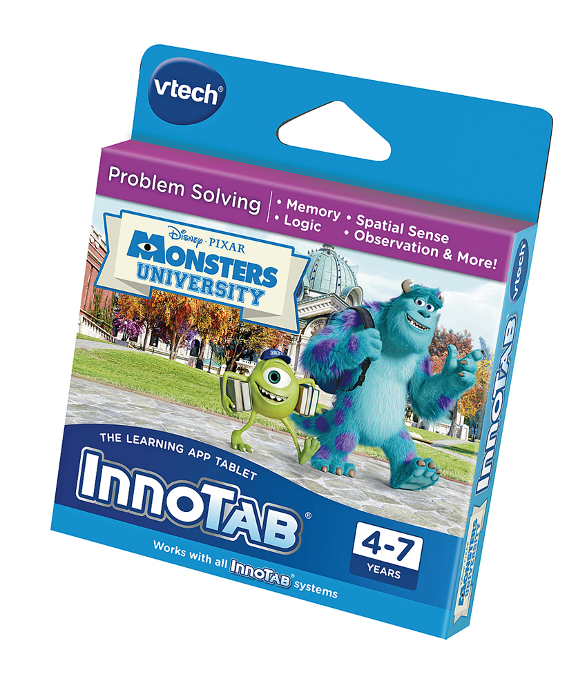 Innotab Monsters University Problem Solving Game