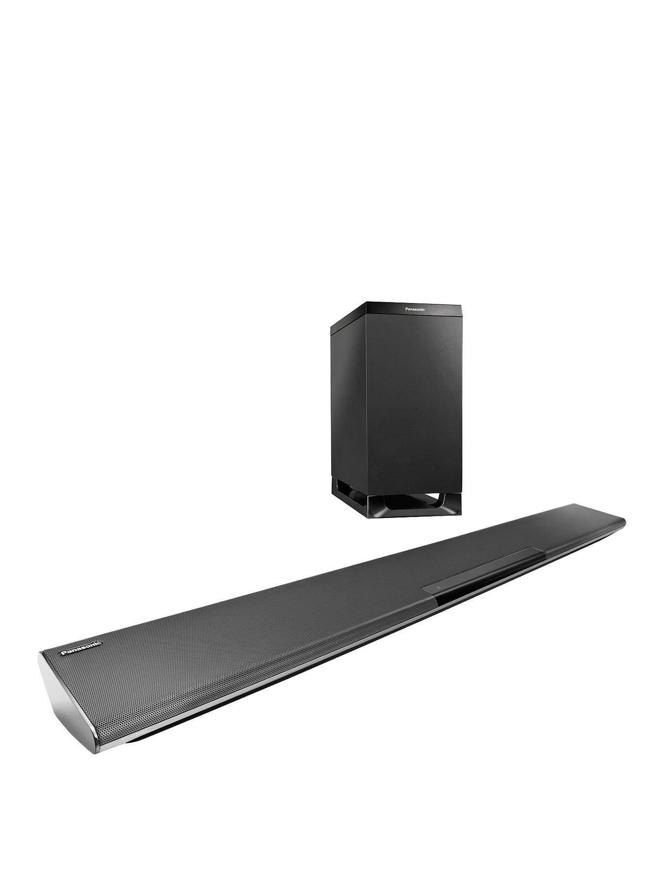 Panasonic SC-HTB485 250W Bluetooth Soundbar With Wireless Subwoofer