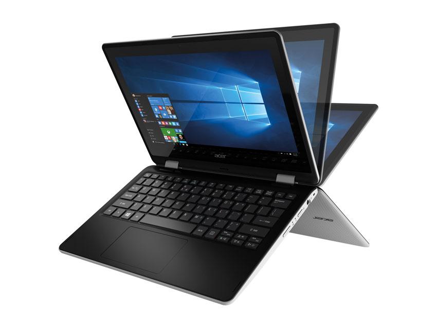 Image of Acer R3-131T Intel Celeron 2GB RAM 500GB Storage 116 Touchscreen 2 in 1 Laptop