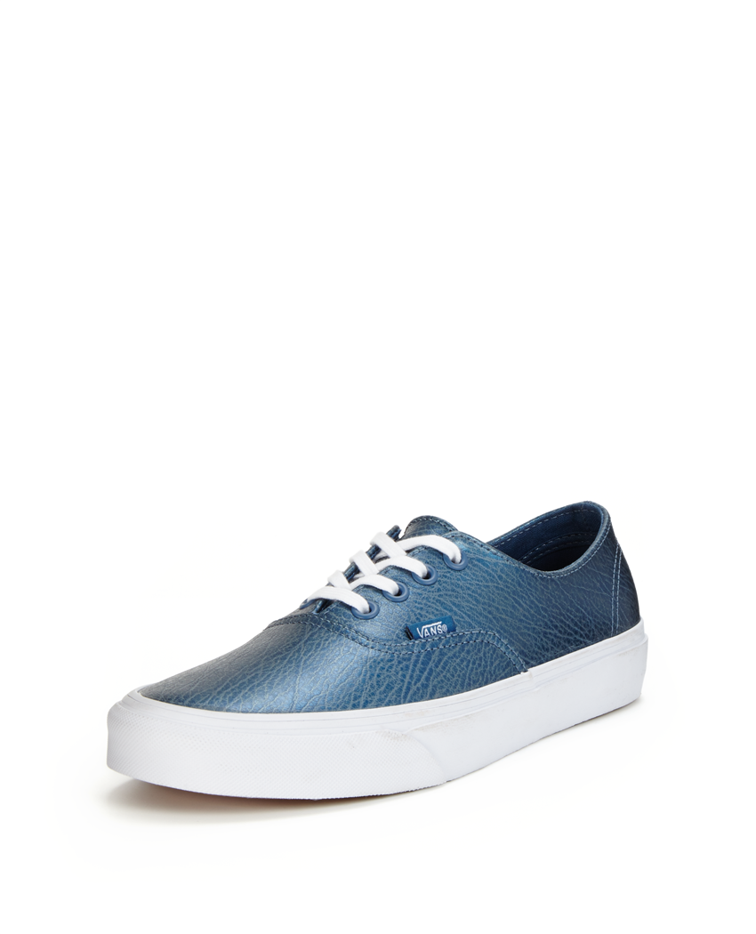 Vans Authentic Decon Metallic Leather Trainers