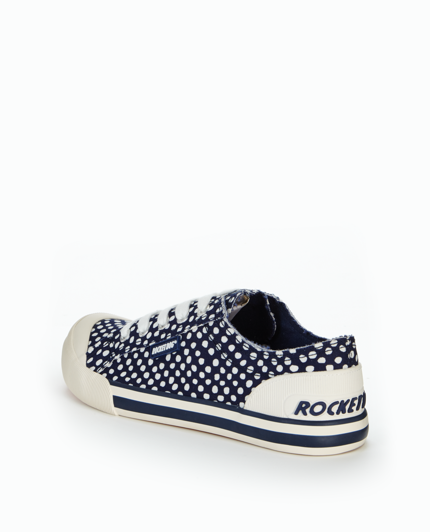 Rocket Dog Jazzin Spotted  Canvas Shoe.