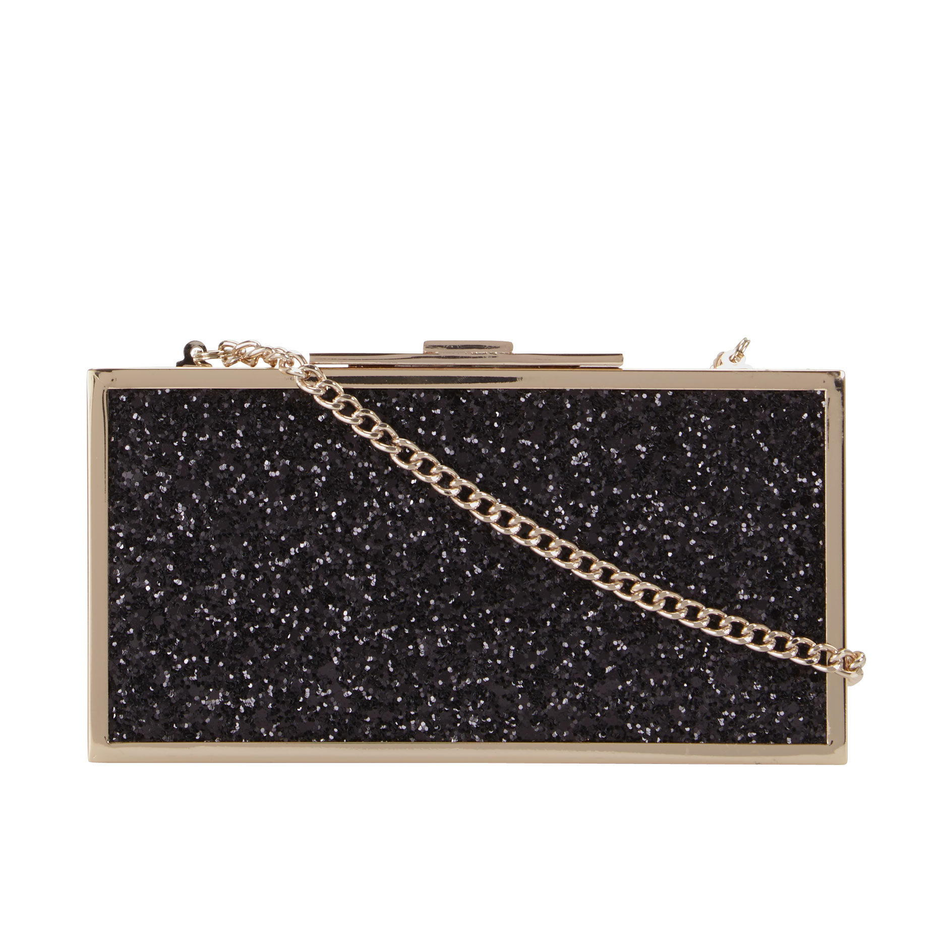 Dune Exquisite Glitter Clutch Bag