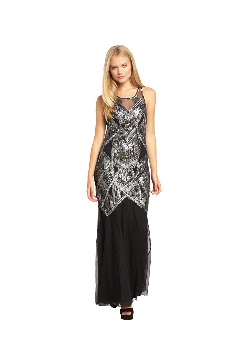 Miss Selfridge Boudica Maxi Dress.