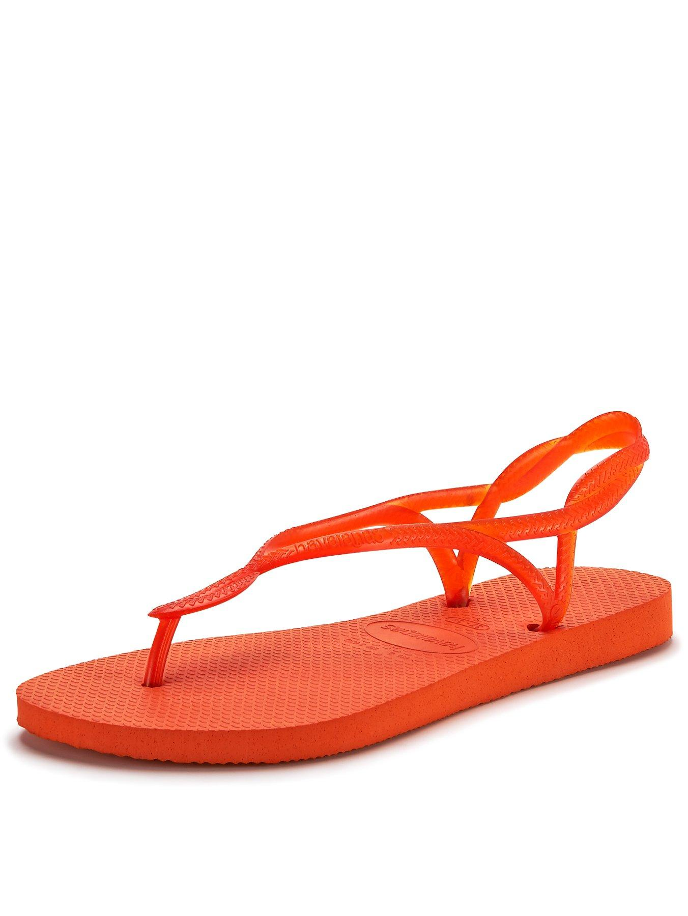 Havaianas Bright Ankle Strap Orange Flip Flop