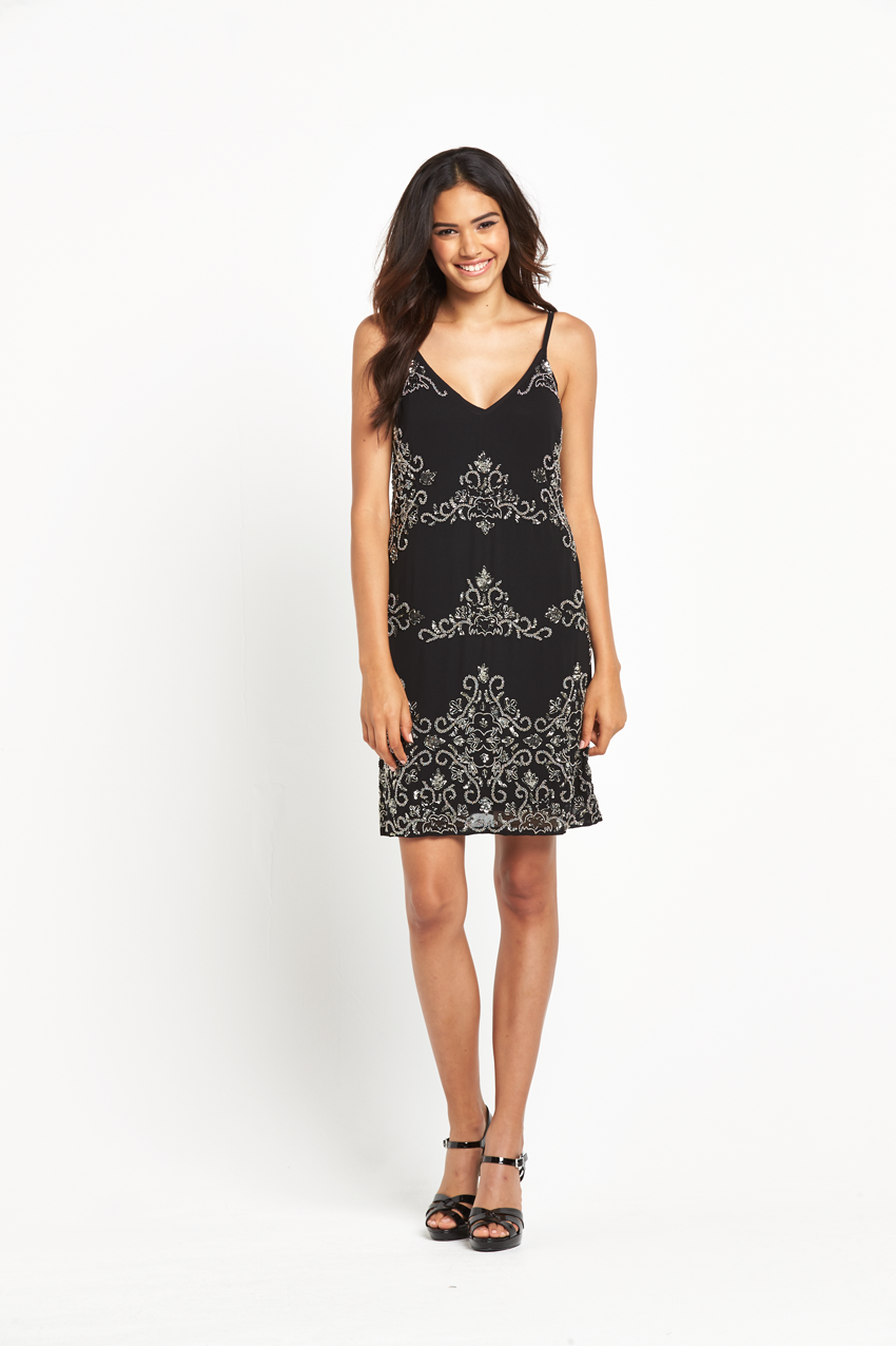 Miss Selfridge Embellished Cami Dress.