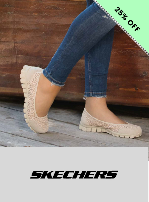 25% off May day offer Skechers