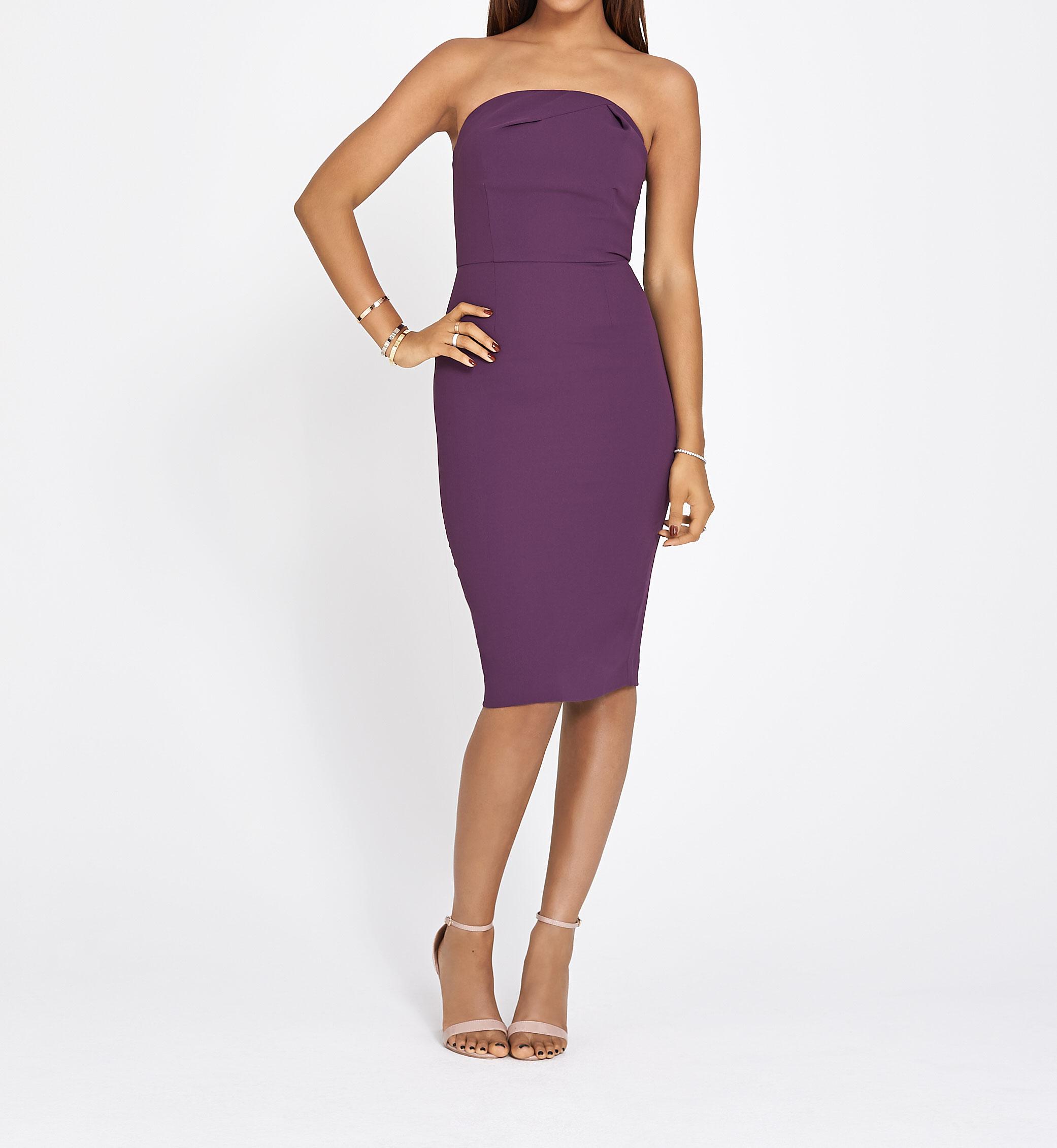 V by Very Bandeau Bodycon Dress