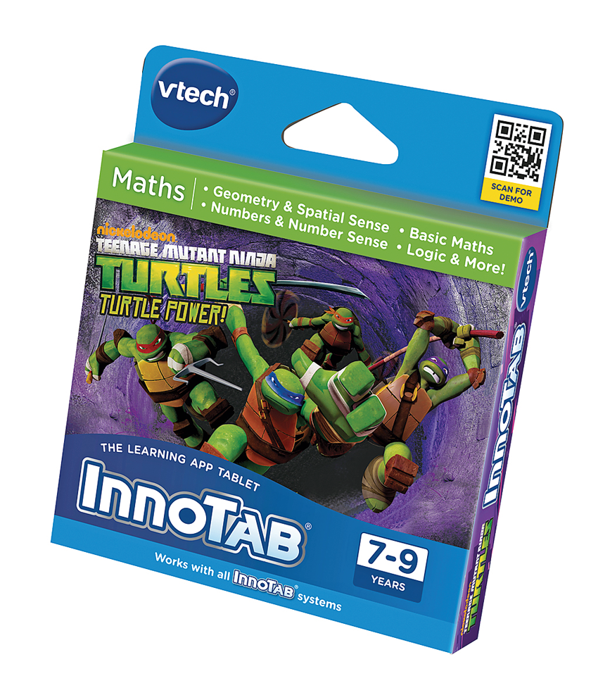 Innotab Teenage Mutant Ninja Turtles Maths Game