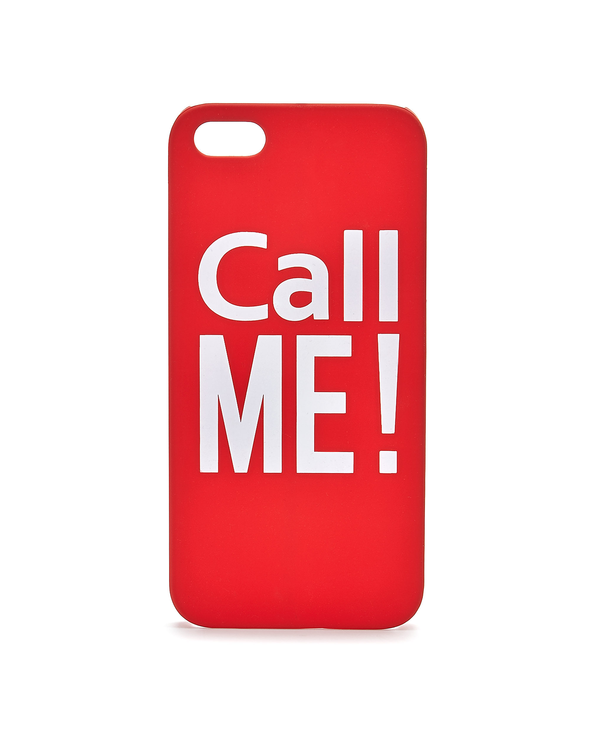 Call Me Slogan Phone Case For iPhone 5  5s
