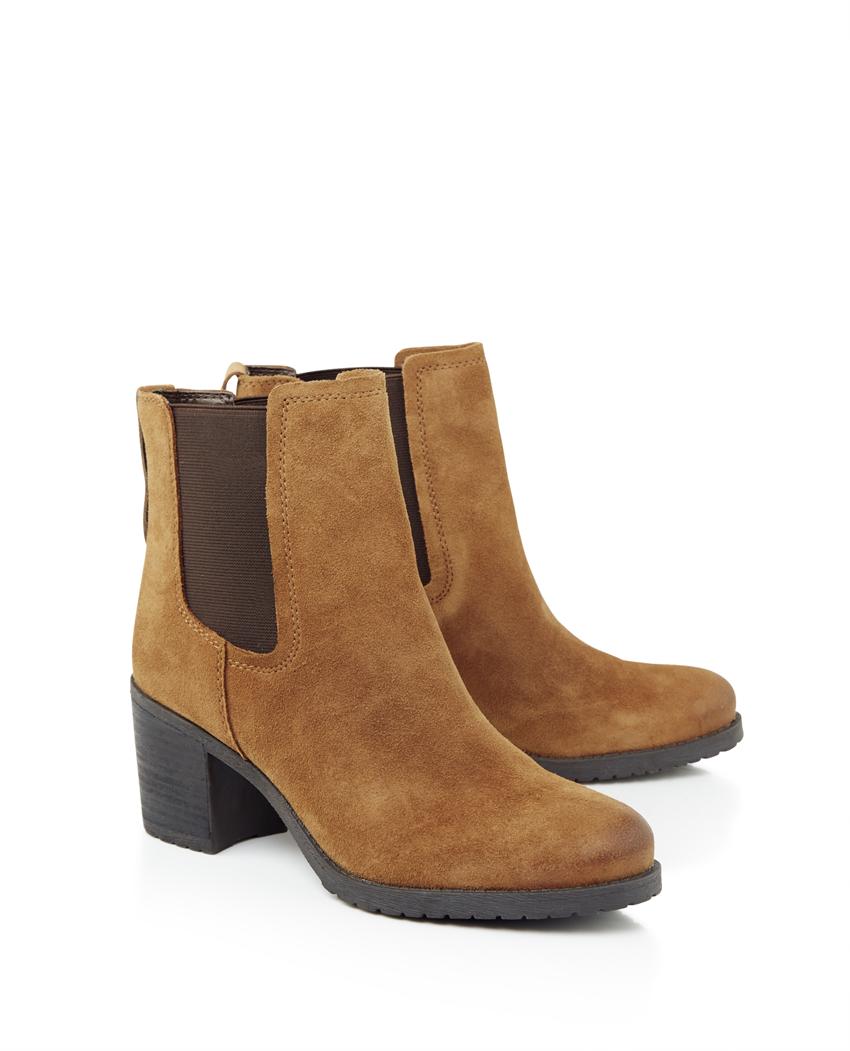 Sam Edelman Hanley Block Heel Chelsea Ankle Boots