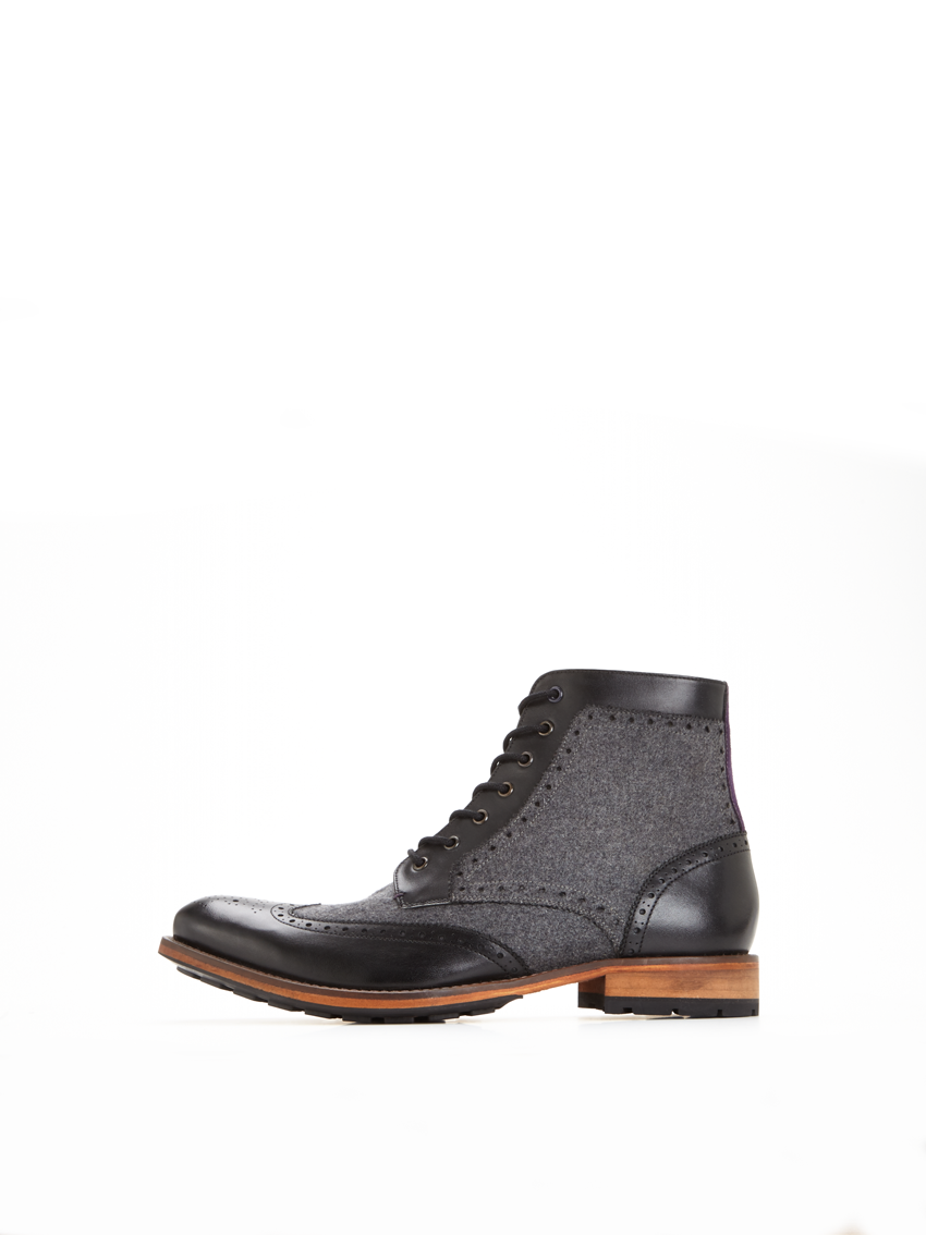 Ted Baker Sealls 3 Leather Brogue Boots