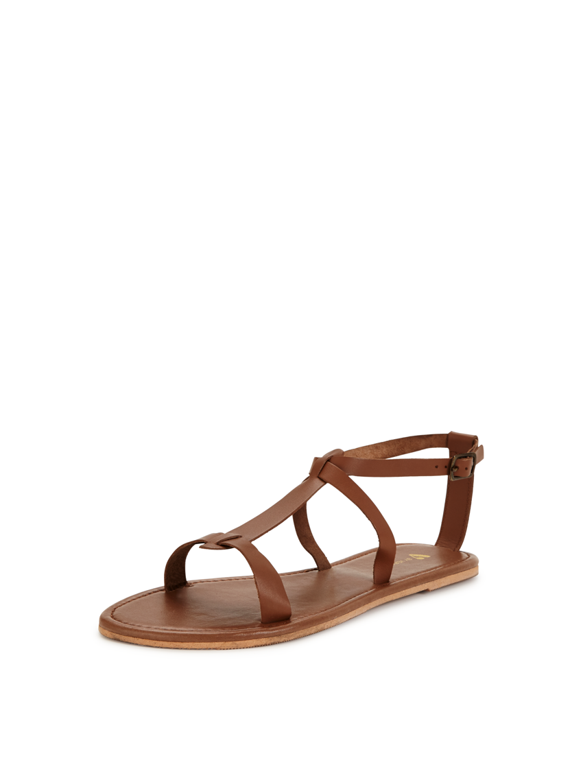 V by Very Emma Leather  Flat Sandals.