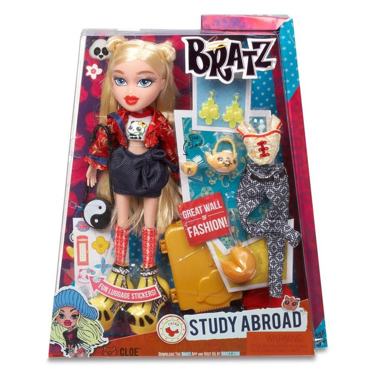 Bratz Study Abroad Cloe Doll