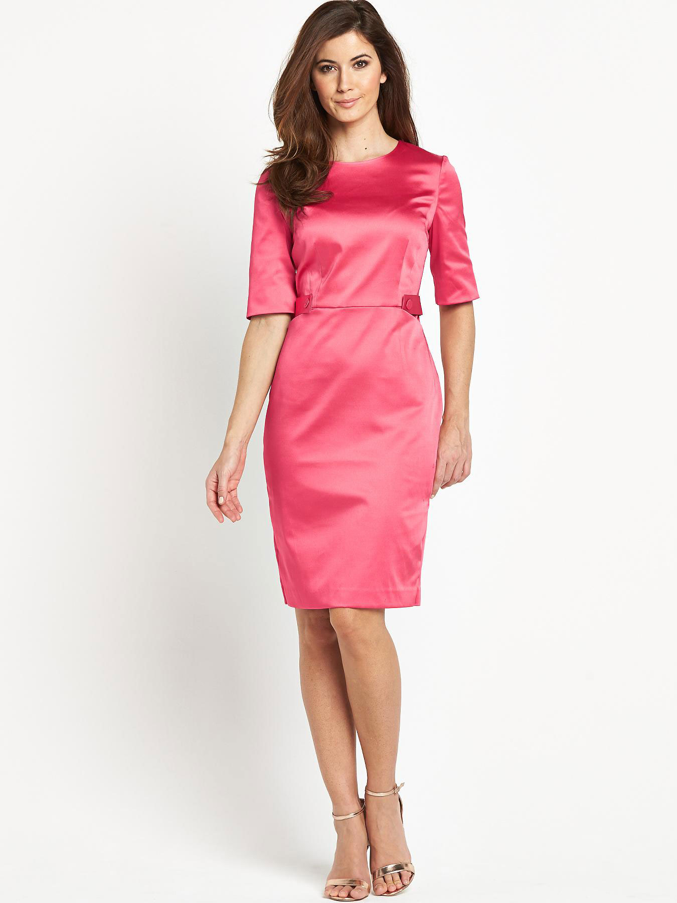 Berkertex Button Detail Shift Dress