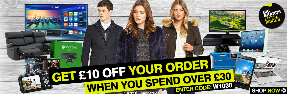 £10 OFF £30 spend